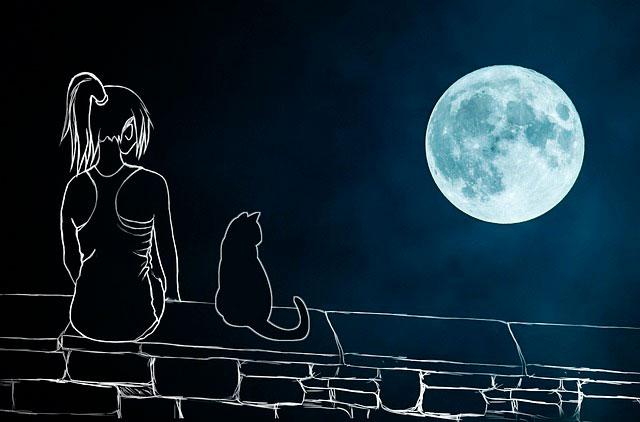 загадать желание на полную луну